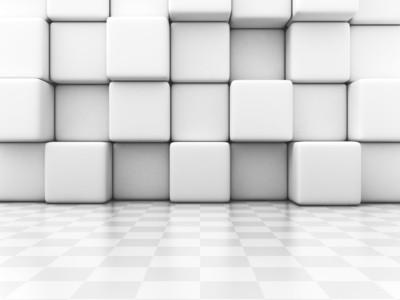 White Blocks 3D 00963