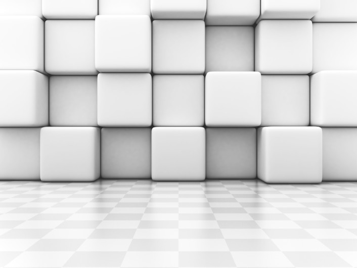 White Blocks 3D 00963