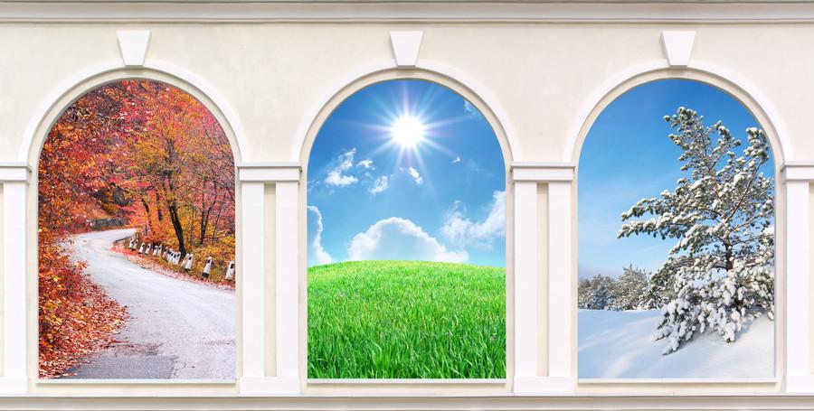 Windows of seasons 00470