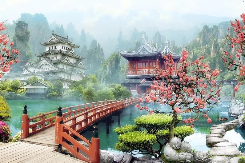 Японский сад 01264D